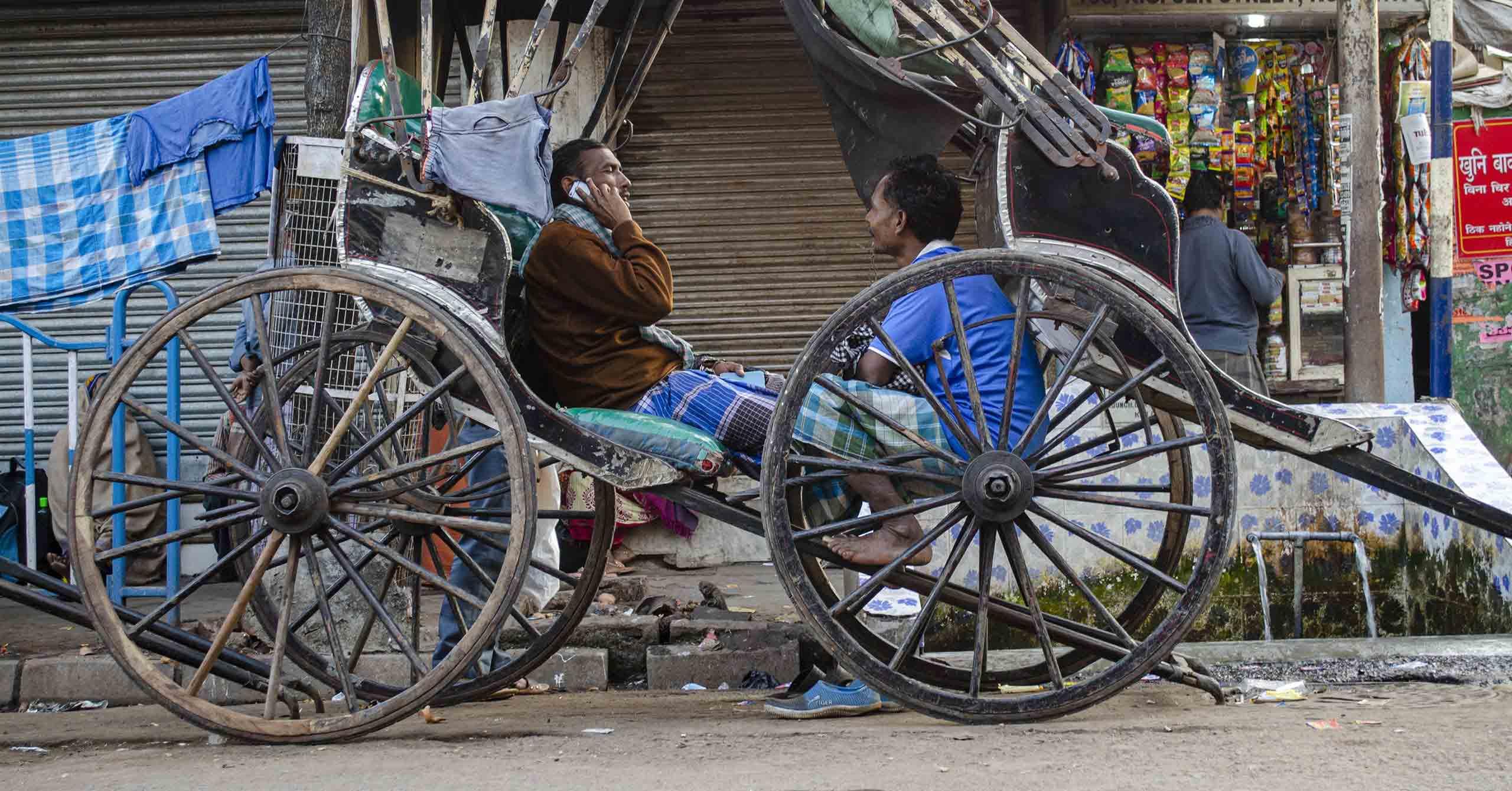 Hand-Pulled Rickshaws: Nostalgic icon of Kolkata's colonial heritage