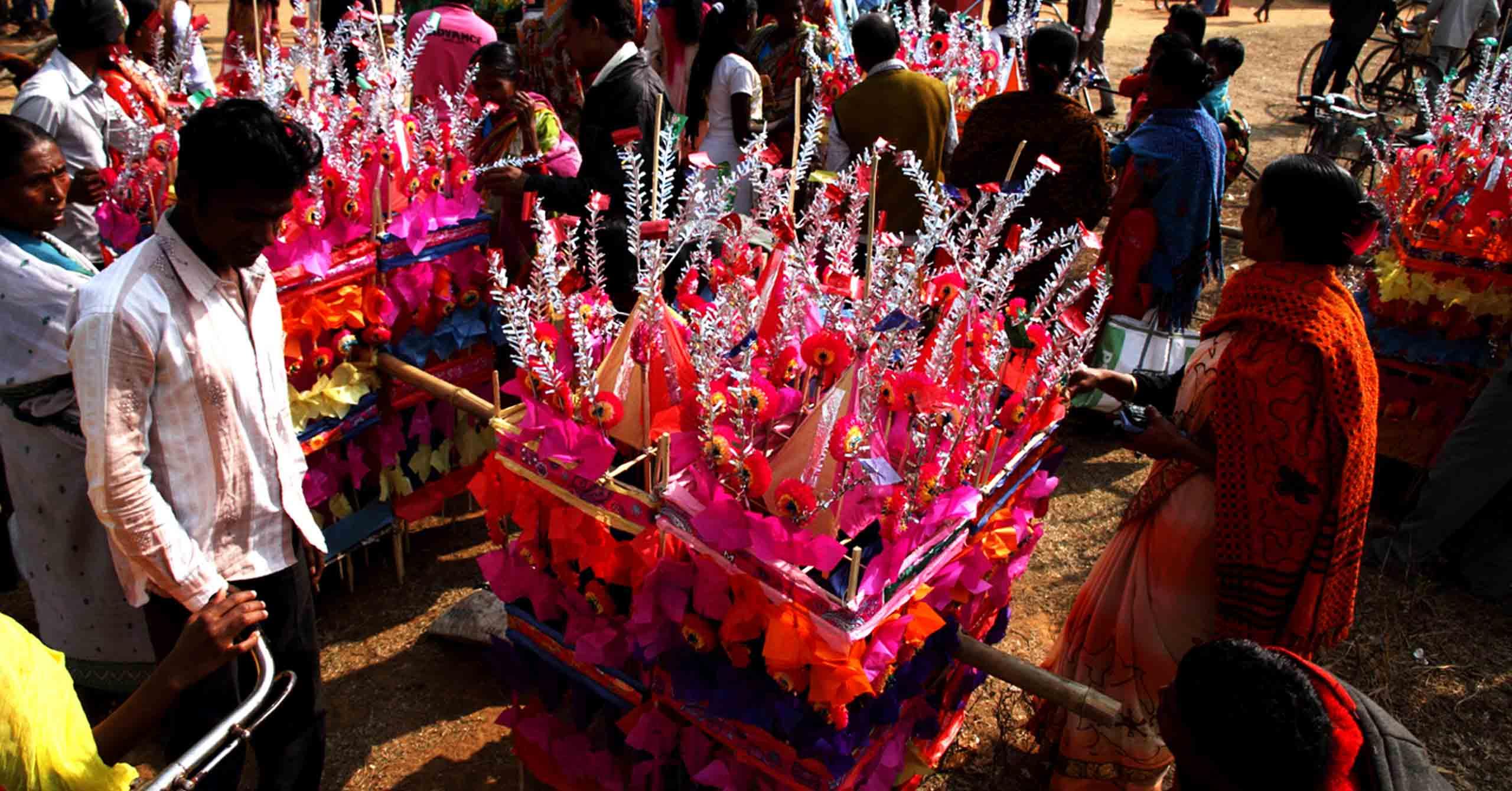 Tusu festival, celebration of harvest season involving the worship of the Goddess Tusu