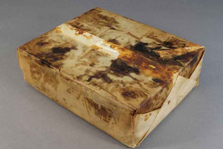 106-year-old fruitcake unearthed in Antarctica