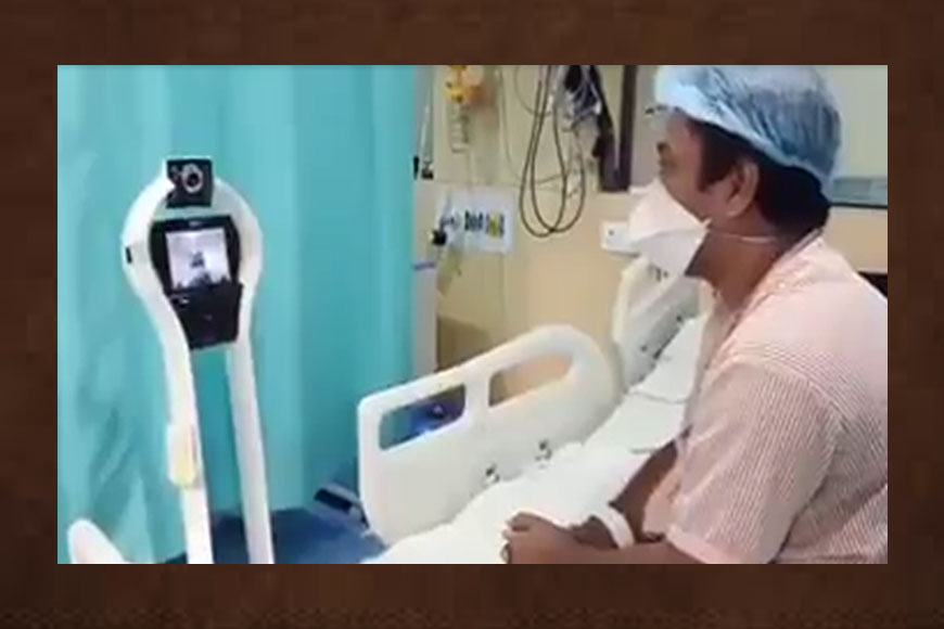 Robots will check Corona patients in Kolkata hospital