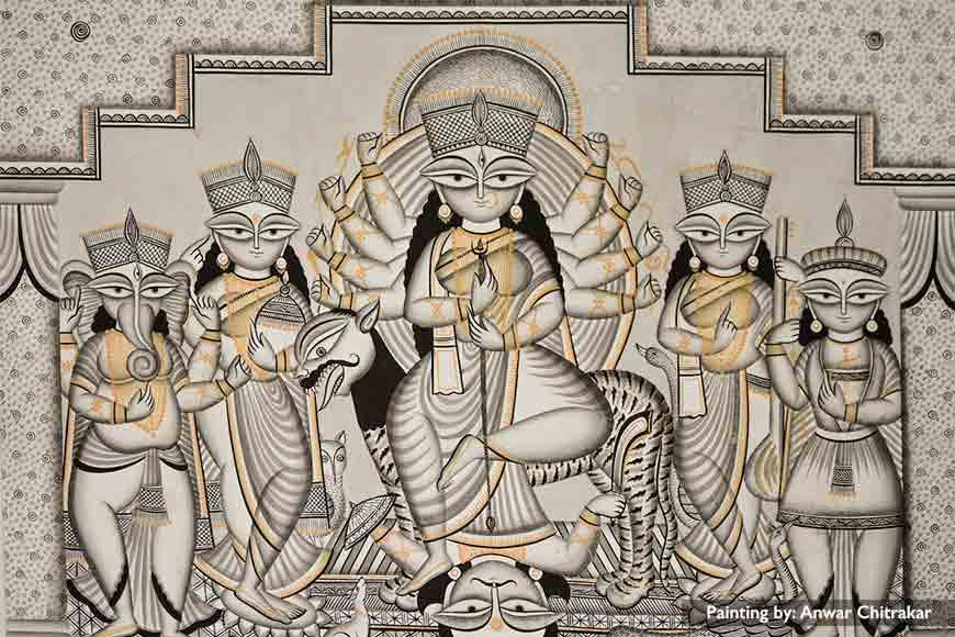 Agomoni -- Bengal's Pata Durga reflects amalgamation of all religions