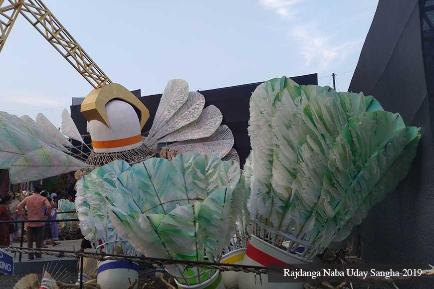 AGOMONI – Corporatization of Kolkata's theme Durga Pujas