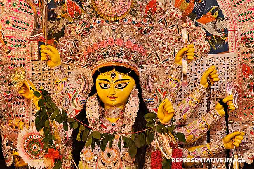 350-year-old Durga Puja of Arambagh that starts with Namaaz path