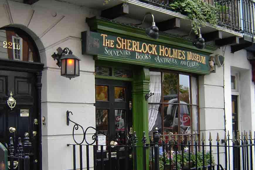 Did Ditipriya Dutta get to see Sherlock Holmes on Baker Street?