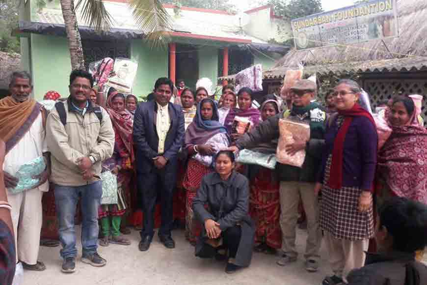 Who are helping Sunderban's Tiger Widows?