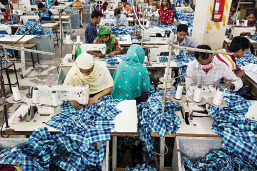 Success story: Bangladesh's textile exports, second only to China