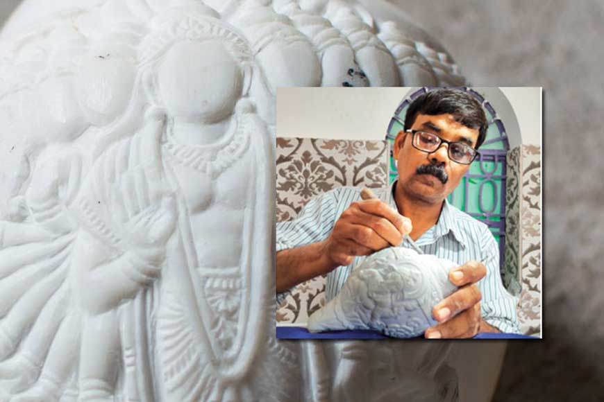 Bankura craftsman gets National Award for exclusive Conch Shell carving