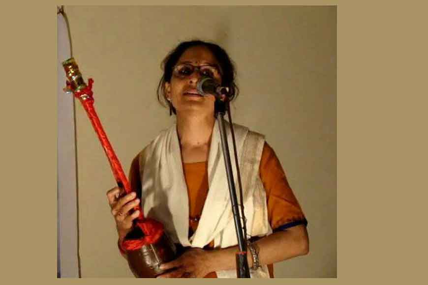 Baul Sanghamitra Das tries to preserve Bengal's folk songs