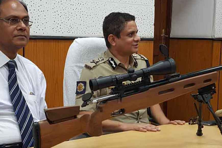 Bengal's rifle factory makes first indigenous sniper first time in kolkata rifle