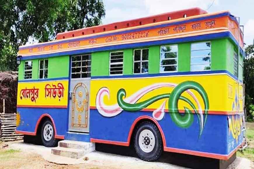 Sculptor's wonder: Creative 'Bus House' of Bolpur