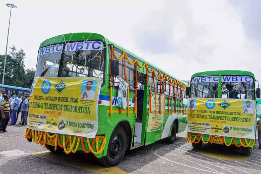 West Bengal kick starts CNG buses to reduce fare during diesel price rise