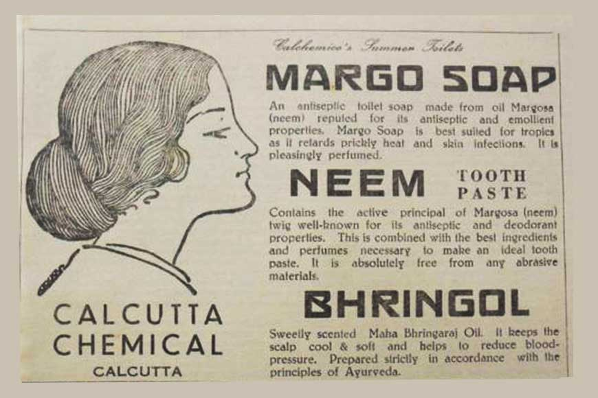 Stanford graduate Khagendra Das launched Margo soap a century ago as part of Swadeshi!