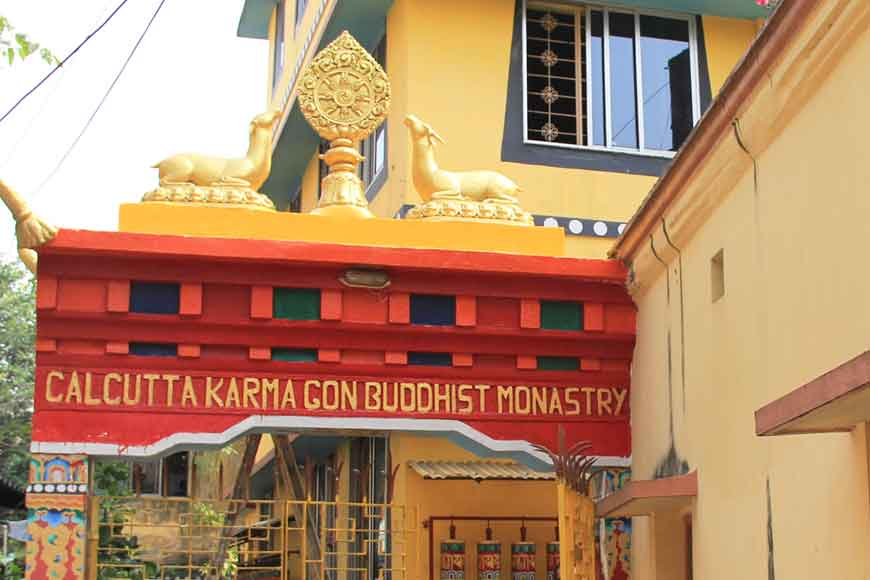 Did you know there is a Buddhist monastery and stupa in the heart of Kolkata?