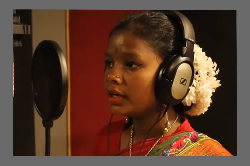 Hooghly's poor tribal girl Chandmani Hembrom is an extraordinary musical talent
