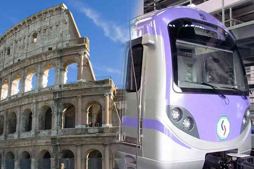 Sealdah Metro Station will look like Colosseum of Rome