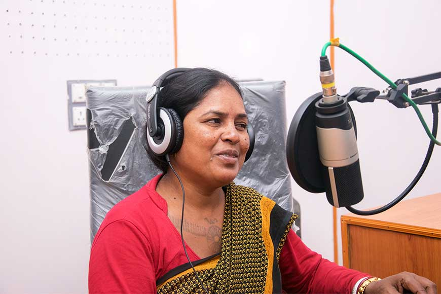 Community Radio Station changing Santhali lives In Jangalmahal