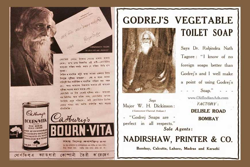 When 'copywriter' Rabindranath Tagore sold FMCG products
