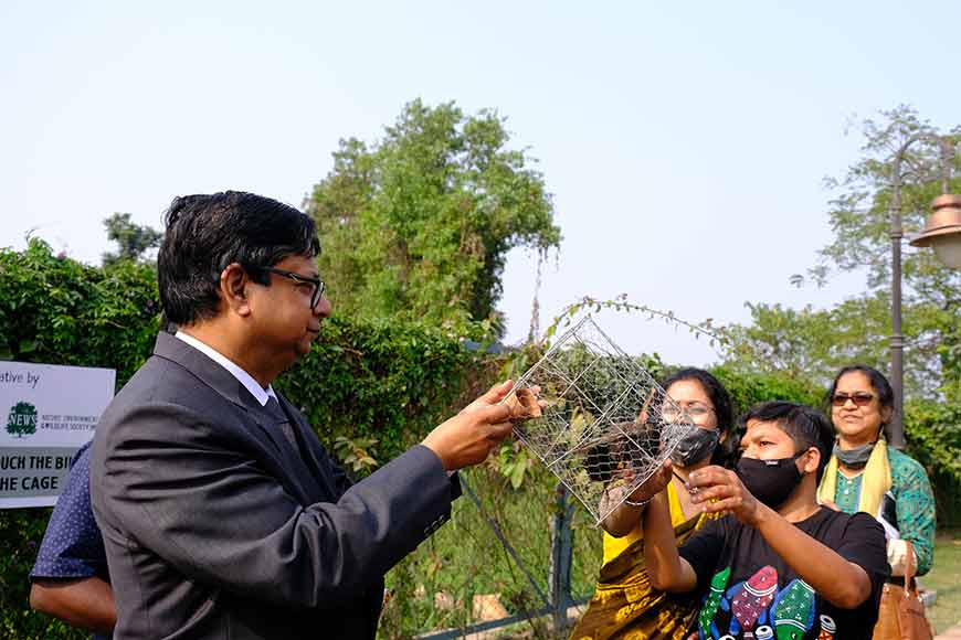 Eco Park in New Town hosts workshop on its resident birds