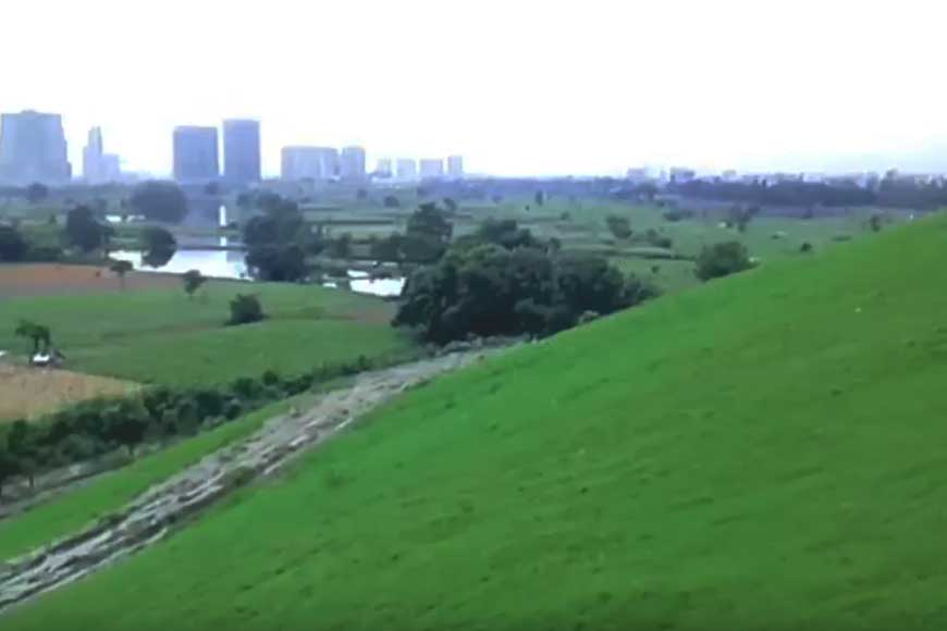 KMC converts Dhapa, largest open garbage dump-yard into a green plateau