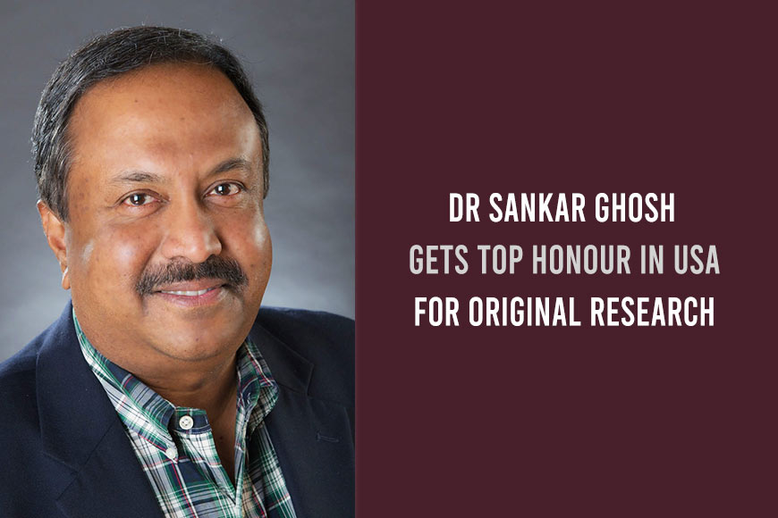 Bengali immunologist gets top honour in USA for original research