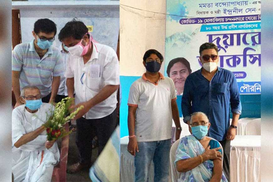 Chandannagar Assembly Constituency shows the way with 'Duare Vaccine'