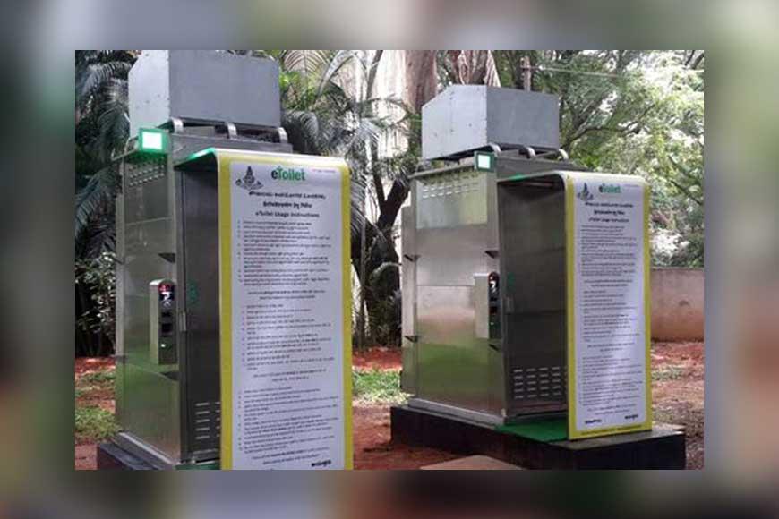 Good News! Kolkata soon to get 80 E-toilets!