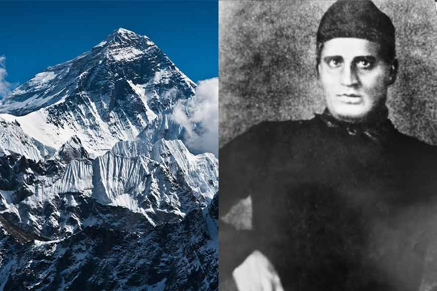 First to record the height of Mt. Everest