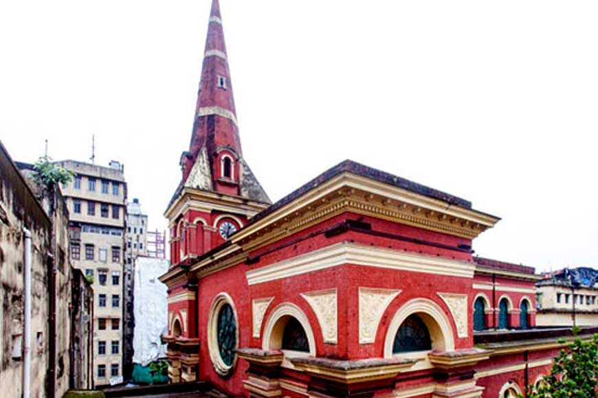 Kolkata Street with a Jewish Connect