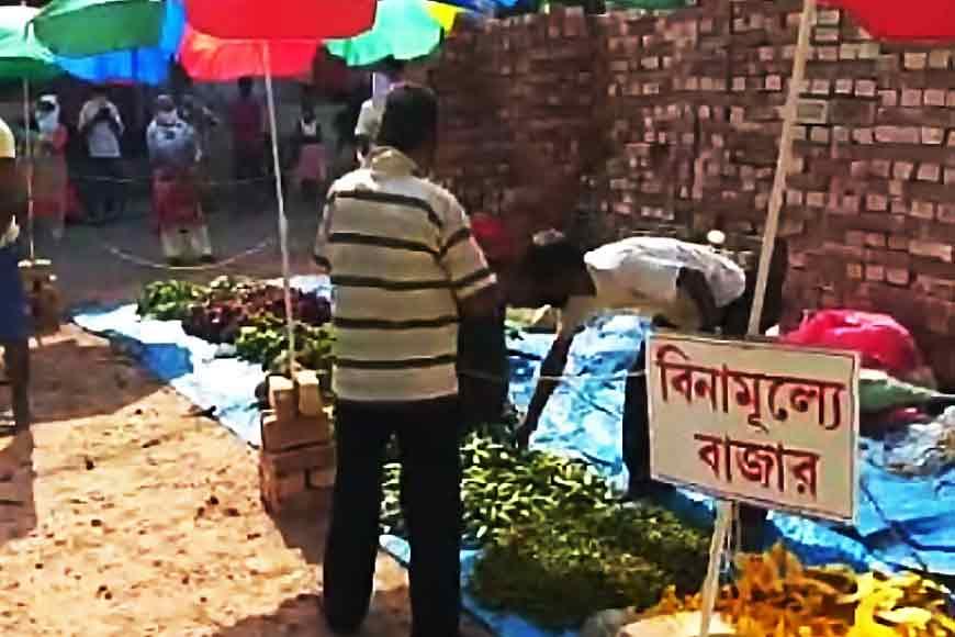 Free Sunday vegetable markets during Lockdown