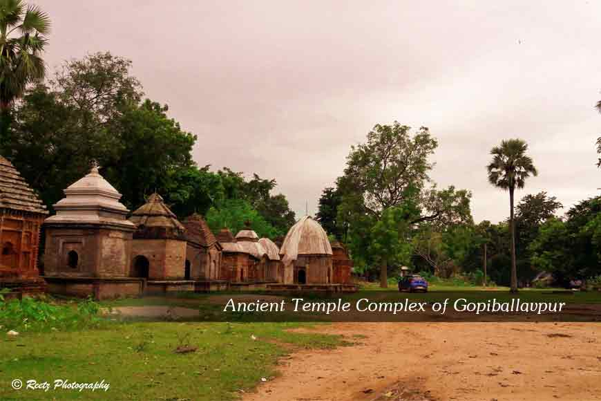 Visit the ruins of Dacoit Ratnakar at Gopiballavpur