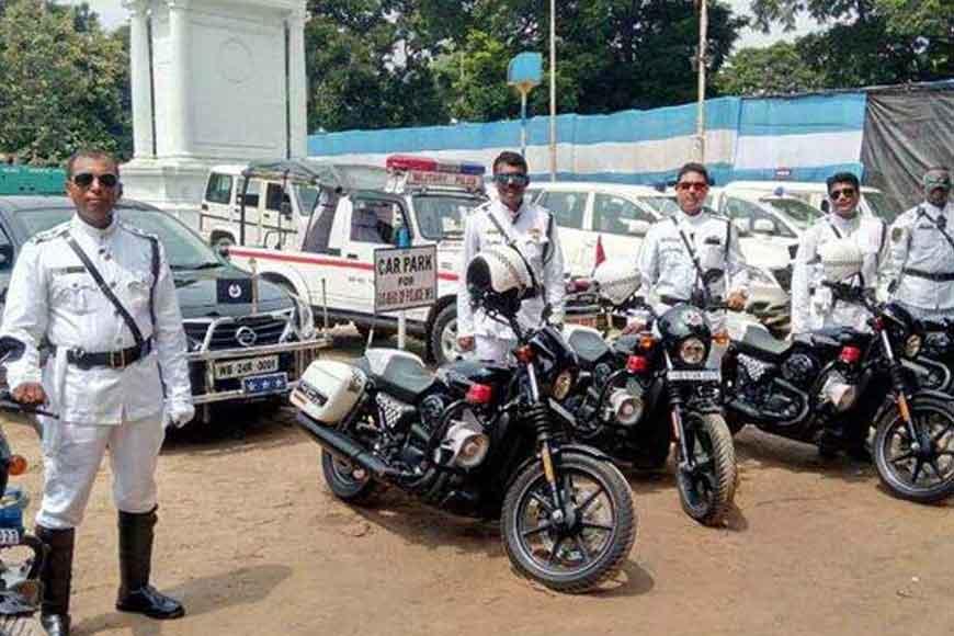 Kolkata police sergeants to look like James Bond?