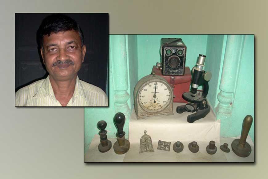 Himadri Shankar Dey --- Lone crusader launches heritage museum