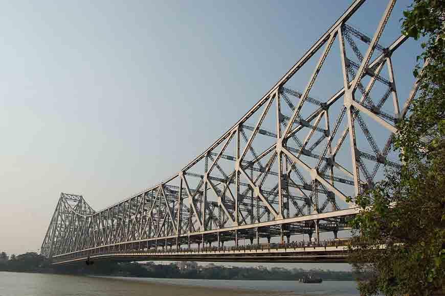 Howrah Bridge through a child's lens