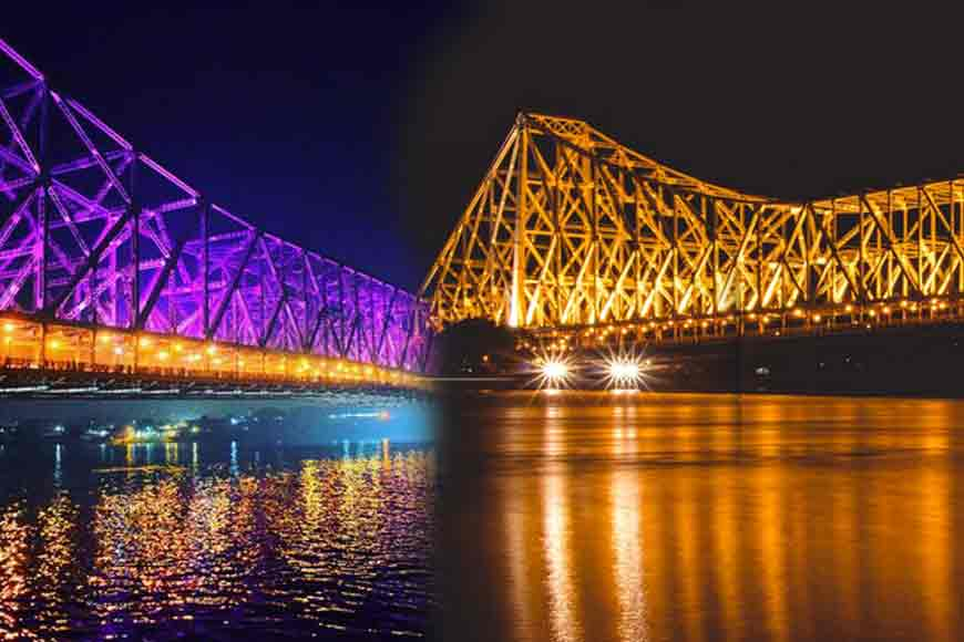 Light-and-sound show on Howrah Bridge!