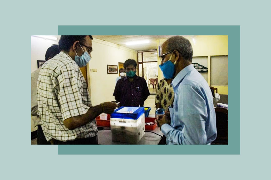 Bengali scientists of IIT Kgp develop portable low-cost COVID test kits