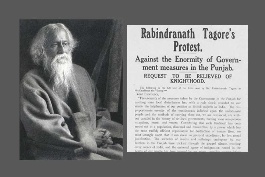 On 101st anniversary of Jallianwala Bagh massacre, Tagore's letter giving up Knighthood