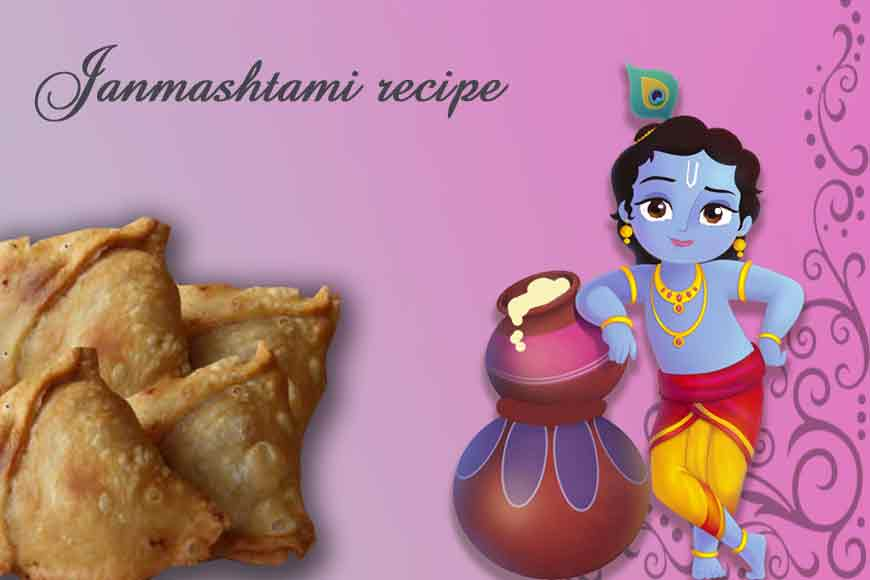 Try out some Makhhan Samosa on Janmashtami