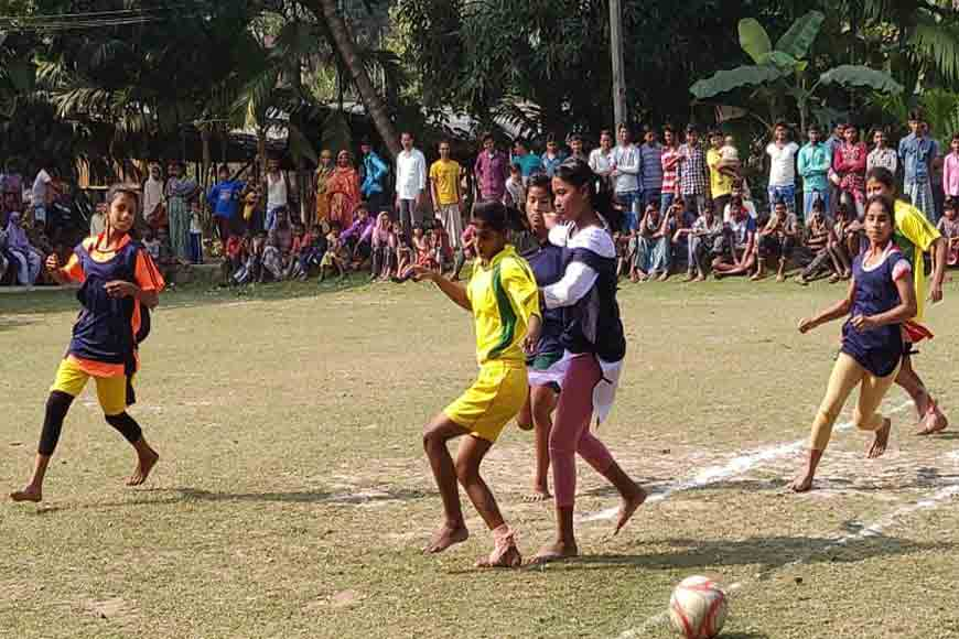 Jaynagar girls fight out gender discrimination on the football