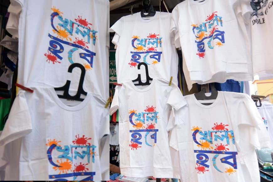 Poll Slogan T-Shirts usher in a new political culture in Bengal