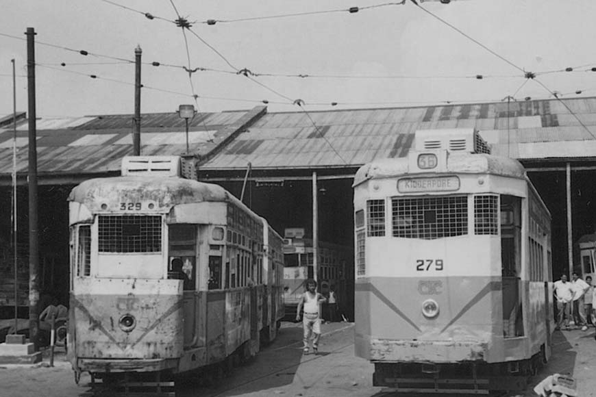 Kidderpore Tram Depot -- The oldest operational Tram Depot of Asia