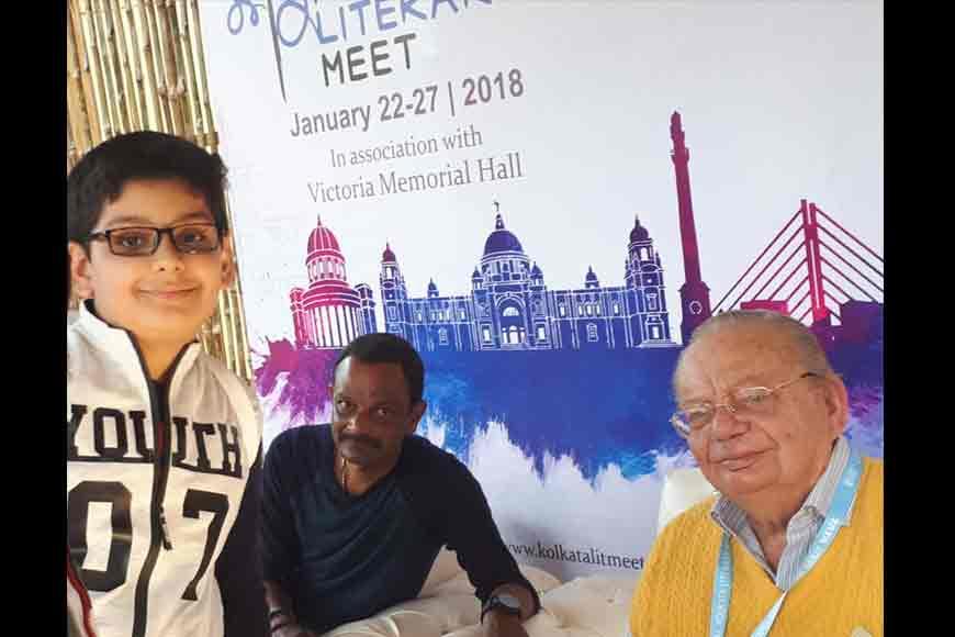 Meeting Ruskin Bond and Devdutt Pattanaik