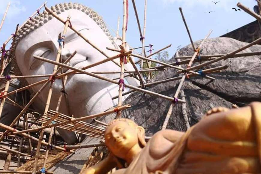 India's Largest Buddha Statue is in the making in Kolkata