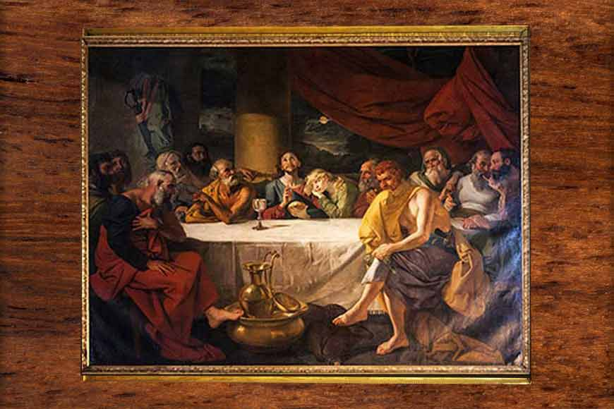 Famous painter Zoffany's Last Supper adorns a Kolkata church!
