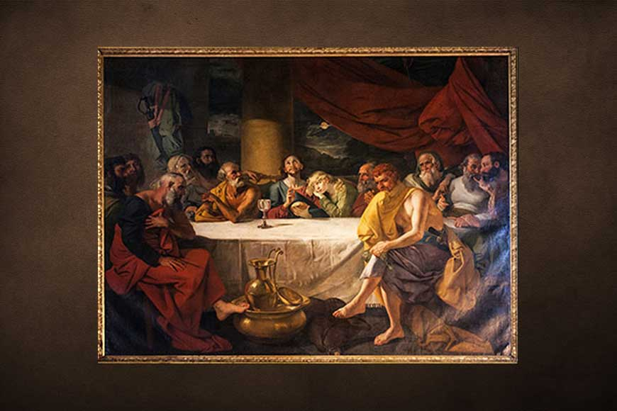This Christmas if you are heading to St John's Church do not miss famous Last Supper Painting