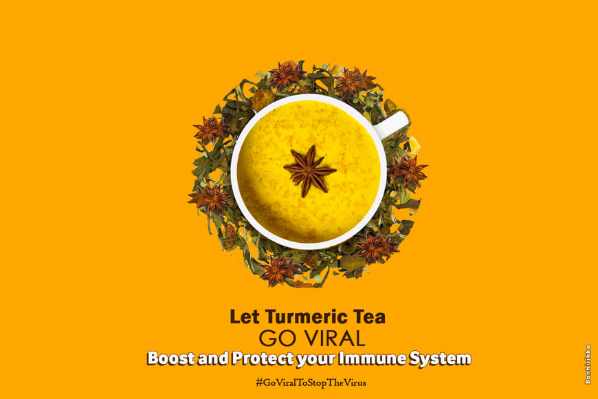 Let Turmeric Tea go viral