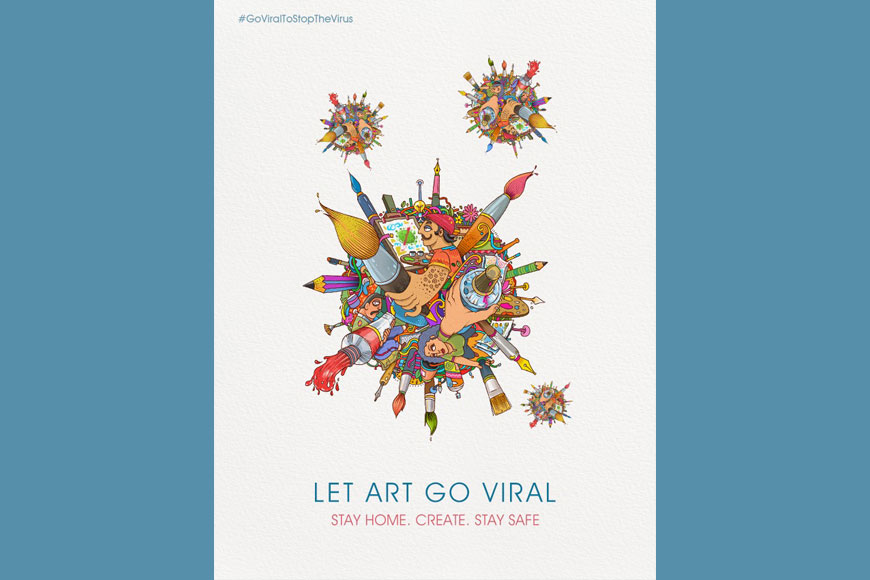 LET ART GO VIRAL