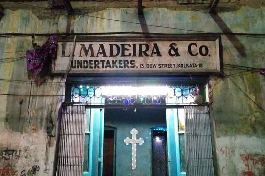 L.Madeira – 200 year old mortuary of Kolkata