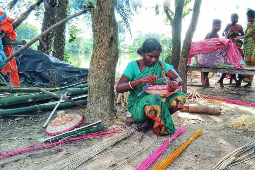 Mahalis of Birbhum – the tribe that weaves bamboo wonders