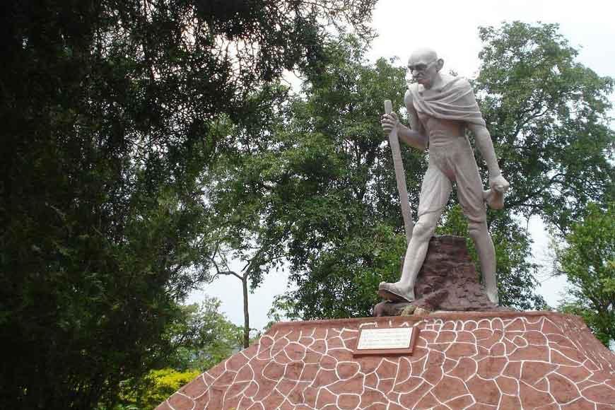 Assam's BJP govt to pull down Ram Kinkar Baij's statue of Mahatma