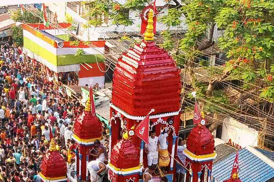 COVID-19 puts a brake on 624-year-old Mahesh Rathayatra